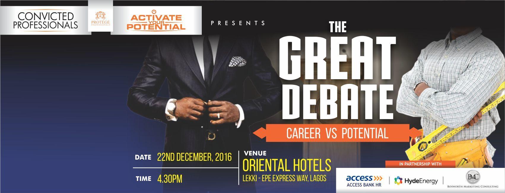 Great Debate Registration